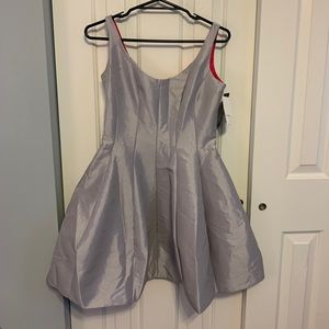 Semi-Formal grey and pink dress
